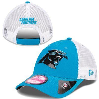 Women's Carolina Panthers New Era Panther Blue/White 2015 NFL Draft 9FORTY Adjustable Hat