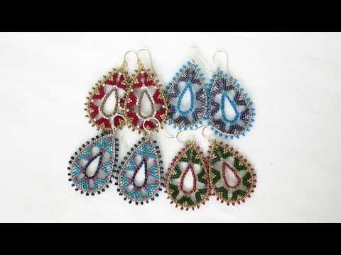 Hi! I'm Leslie, seed bead artist and designer. On this channel I will be showing bead weaving tutorials of how to make some of my most popular styles. Check ...
