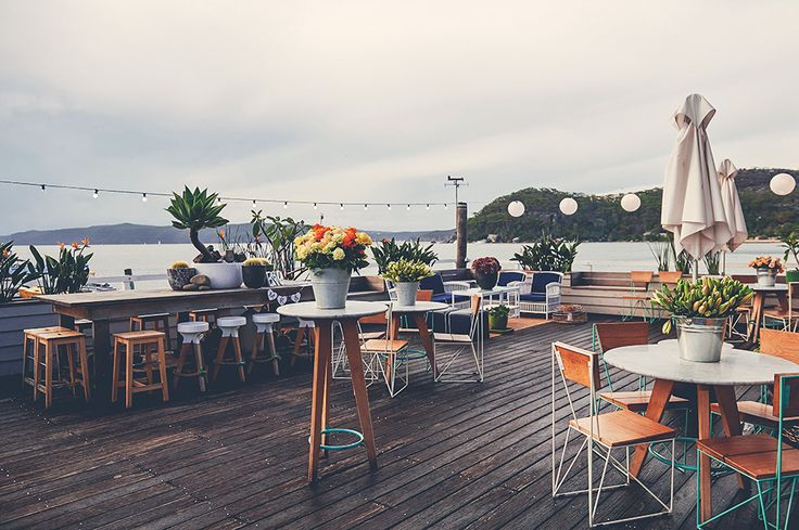 The deck at The Boathouse, Palm Beach | Photo Credit: Popcorn Photography