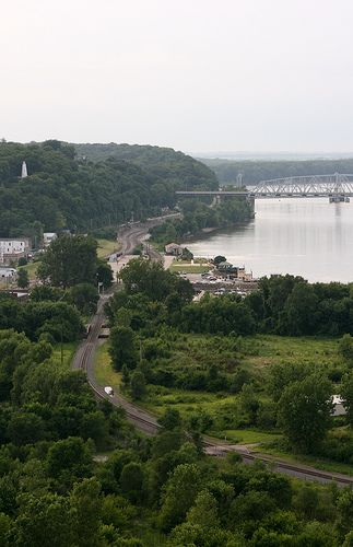 visit Hannibal Missouri, boyhood home of Mark Twain and the setting of Tom Sawyer and Huckleberry Finn.