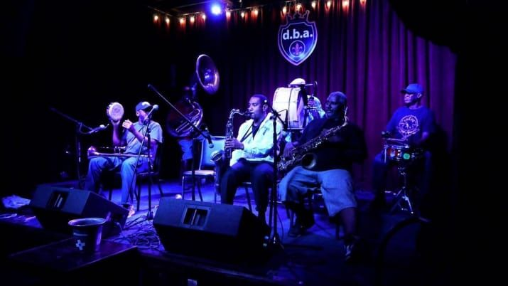 Most people know Treme from binge-watching the TV show on HBO, but this brass band is far from anything you've every experienced. Performing at one of the city's most popular spots on Frenchmen Street, the Treme Brass Band will give you a soulful experience unlike any you've ever experienced. d.b.a. : 618 Frenchmen St, New Orleans, LA