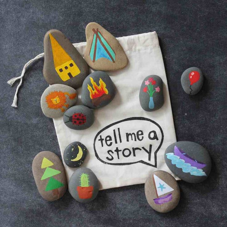 Tell me a story! This fun, creative idea lets kids be a storyteller!