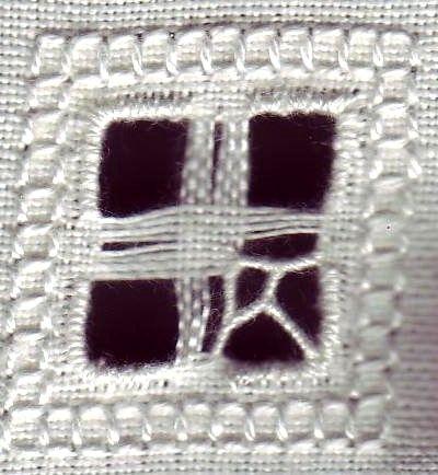 Molti dei retini classici del punto antico vengono eseguiti partendo da una base di punti quadro di dimensione e forma variabile, al fin...