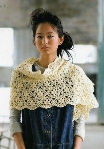 "Crochet Shawl - Chart <3. //  LOVE THIS!!!  A DEFINITE ""MUST MAKE""!!!  ♥A"