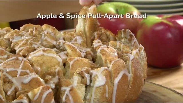 Mr. Food: Apple & Spice Pull-Apart Bread