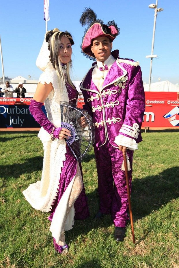 Purple Suit and Dress by Brenda Waring, Whatevs designs.  Contact Brenda on 0726086399