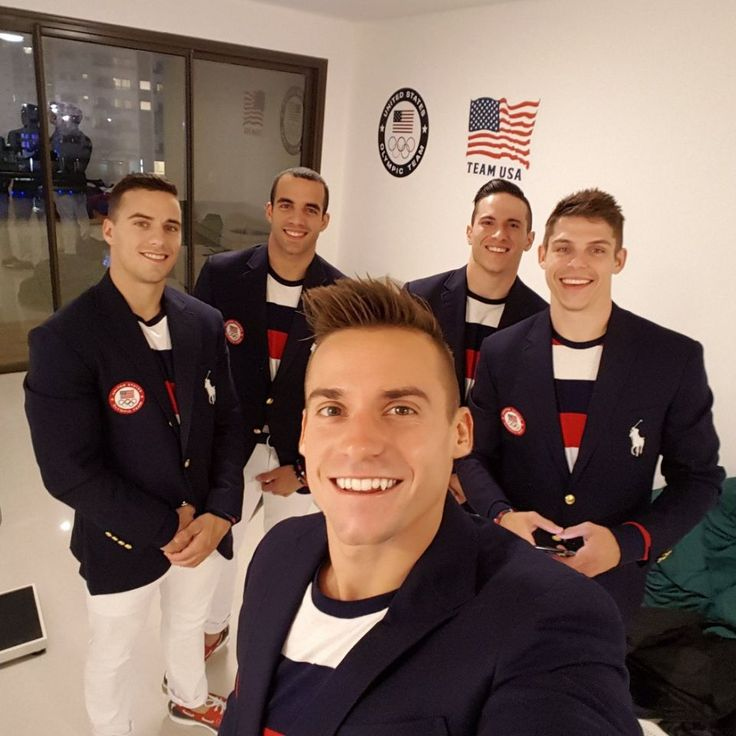 Rio Opening Ceremony: Behind the scenes with the Olympians - Sam Mikulak | USA | Gymnastics Let the Games Begin! Twitter/SamuelMikulak
