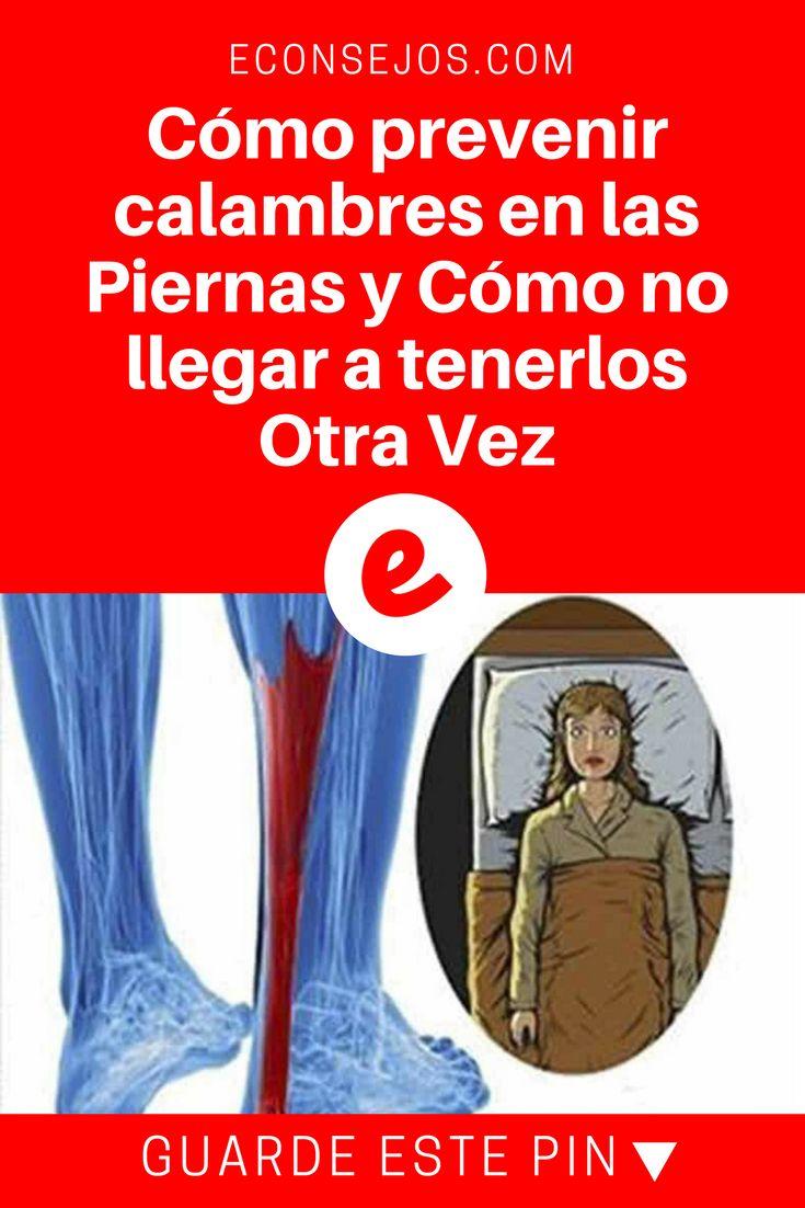 Calambres en las piernas | Cómo prevenir calambres en las Piernas y Cómo no llegar a tenerlos Otra Vez | Los calambres en las piernas no son causados ??por problemas externos, sino internos.