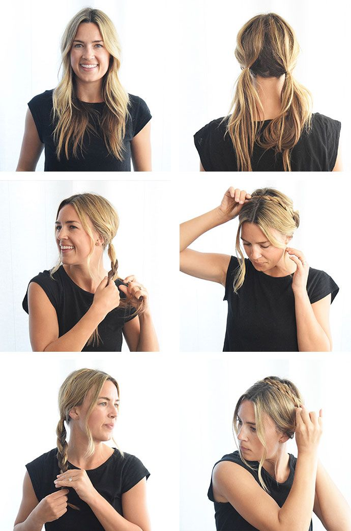 Milkmaid Braids: learn the art of this laid-back, yet chic, hairstyle