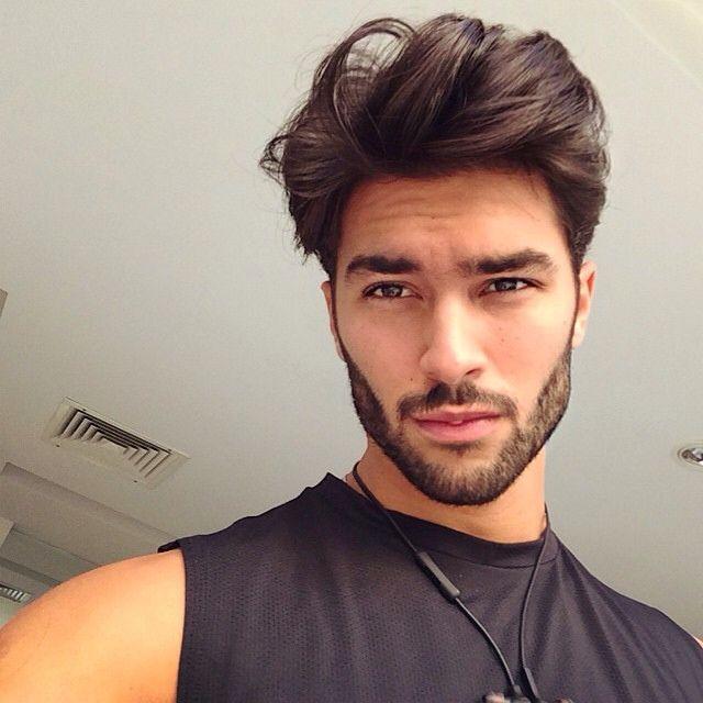 Latino facial hair