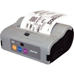 "Sato MB400i Direct Thermal Printer - Monochrome - Portable - Label Print - 4.09"" Print Width - 4 in/s Mono - 203 dpi - Wireless LAN - USB - Serial - 4.49"" - 11.80"" - WWMB54080. More for the money with this high quality Product. Offers premium quality at outstanding saving. Excellent product. 100% satisfaction."