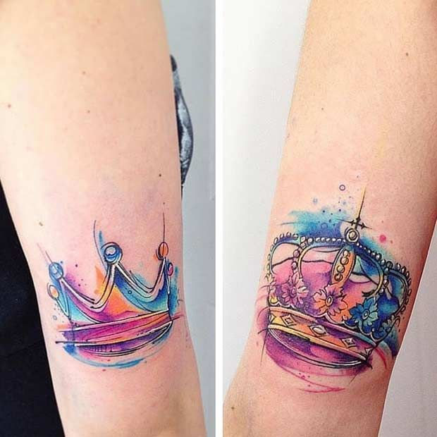 Best Disney Couple Tattoos Ideas On Pinterest Small Disney - 30 amazing couple tattoos that will make you look twice