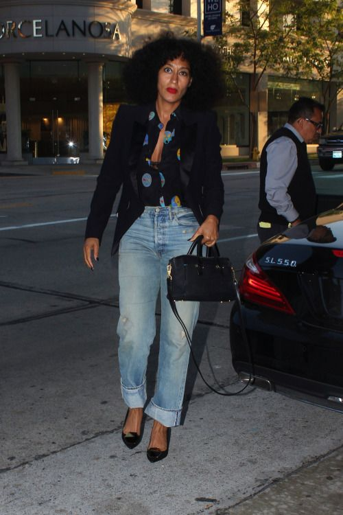 celebritiesofcolor: Tracee Ellis Ross out in Beverly Hills