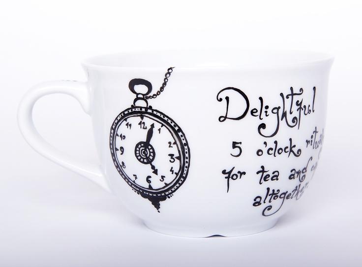 """Cana ceai mare """"Delightful Rituals"""" (65 LEI la BohemianFlow.breslo.ro)"""
