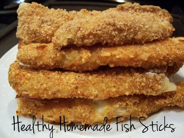 ... , Homemade Fishsticks, Real Food, Healthy Homemade, Fishsticks Recipe