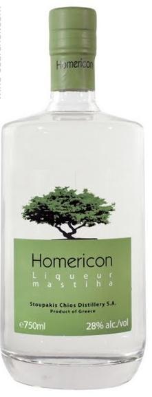 HOMERICON liqueur mastiha