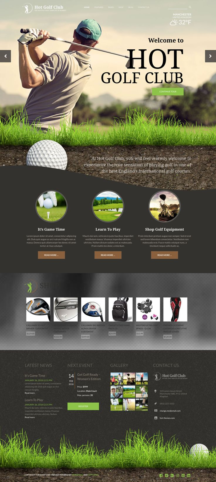 41 best WordPress Themes images on Pinterest | Wordpress template ...