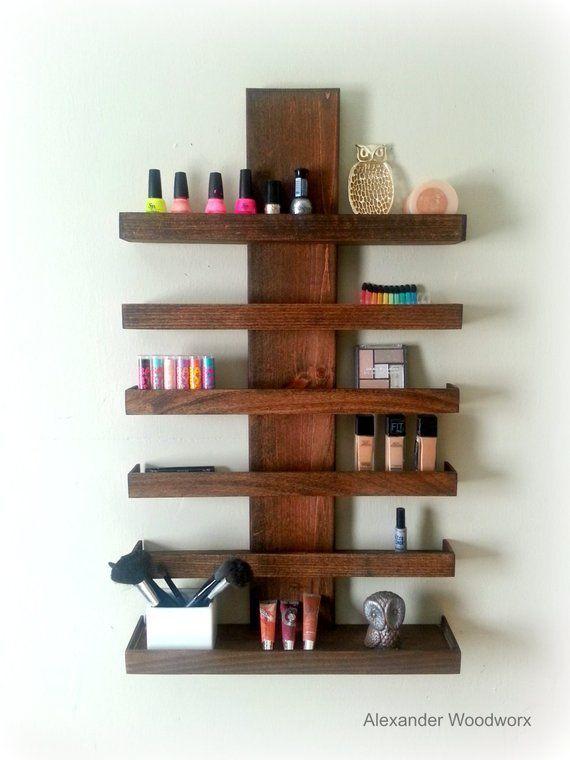 10 Beautiful Open Closet Ideas For Sophisticated Home Makeup Shelves Diy Makeup Brush Holder Makeup Organization