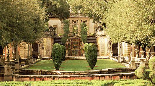 Vizcaya Museum and Gardens in Miami
