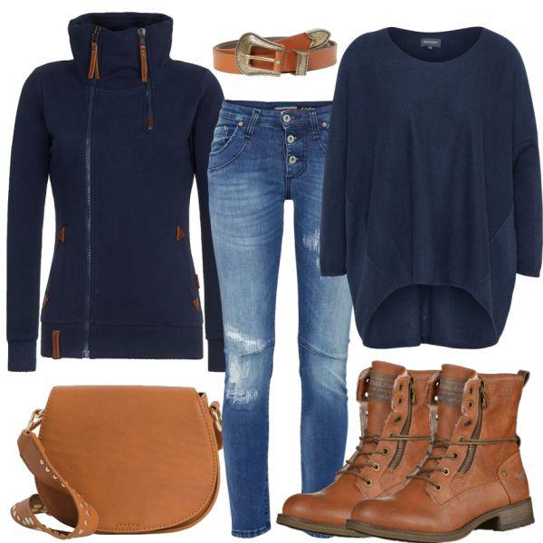 Freizeit Outfits: Thursday bei FrauenOutfits.de #fashion #fashionista #alltag #freizeit #frauenoutfit #damenoutfit #casual #sportlich #outfitfürdamen #frauenstyle #inspiration #outfitinspiration #stiefeletten #naketano