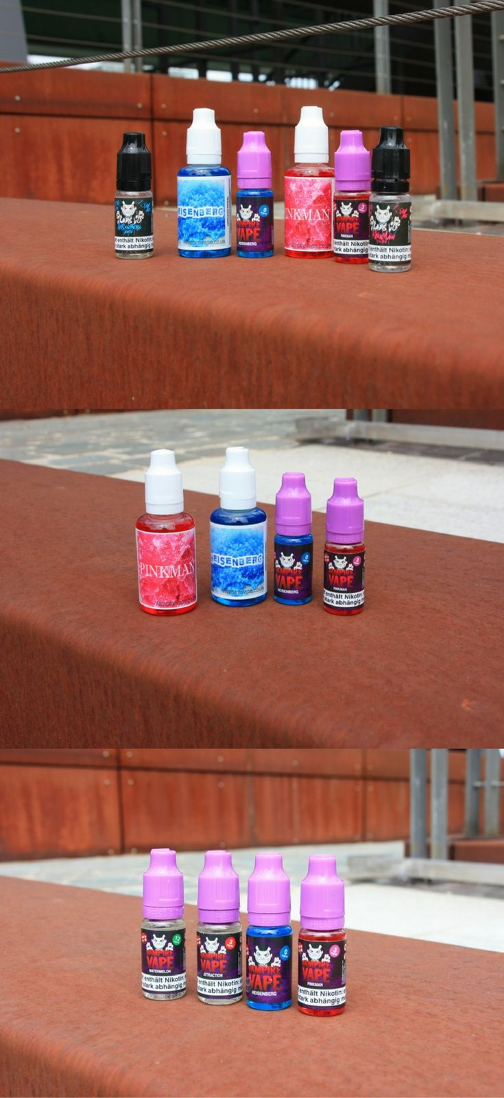Jetzt bei uns im Laden: Viele neue Vampire Vape Liquids. Mit und ohne Nikotin :)