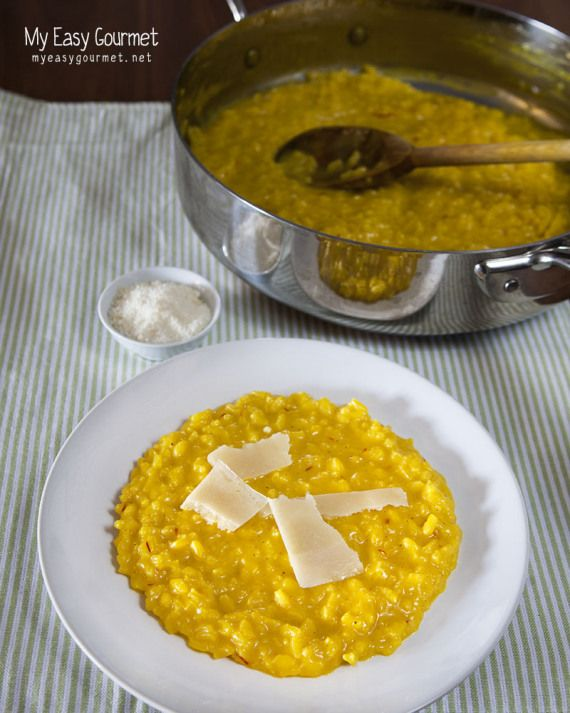 Saffron risotto (Risotto Milanese) | Recipes to Try. | Pinterest