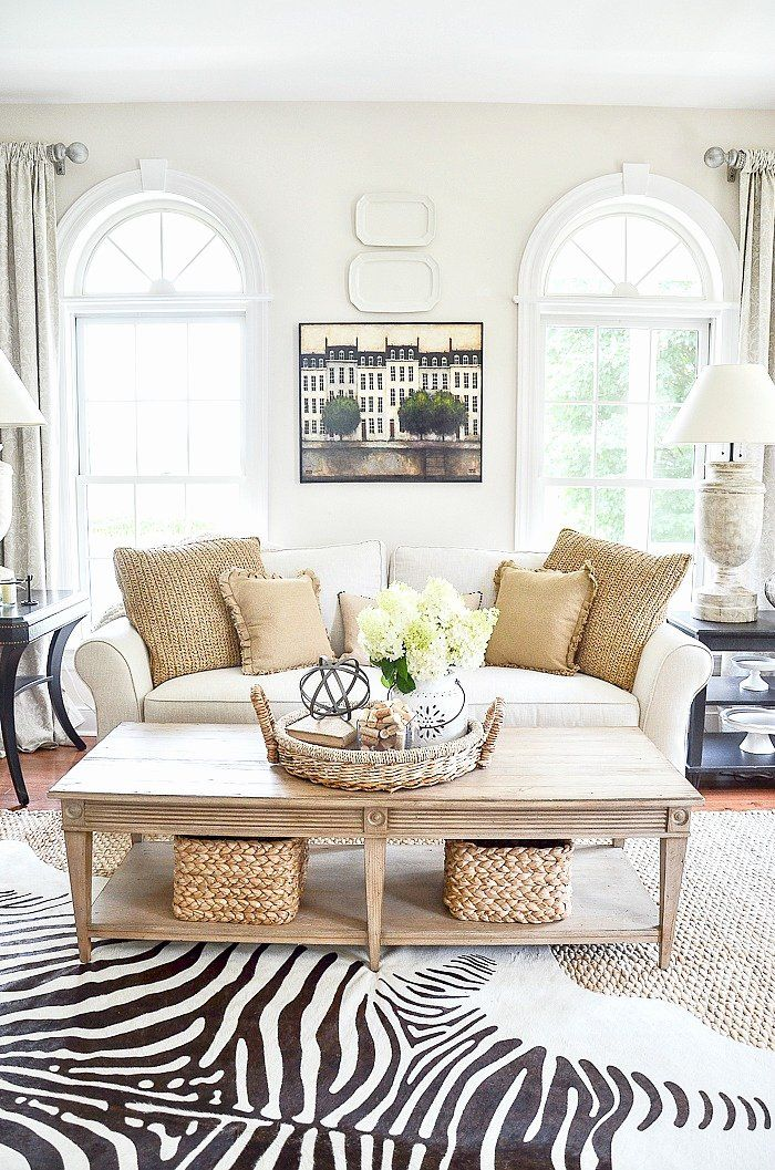 How To Decorate Your Living Room With Brown Sofa Best Of The Elements Of Decor Balan Summer Living Room Decor Living Room Sofa Design Cottage Style Living Room
