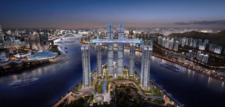 "CapitaLand sets world record for Raffles City Chongqing with ""horizontal skyscraper"" | CapitaLand"