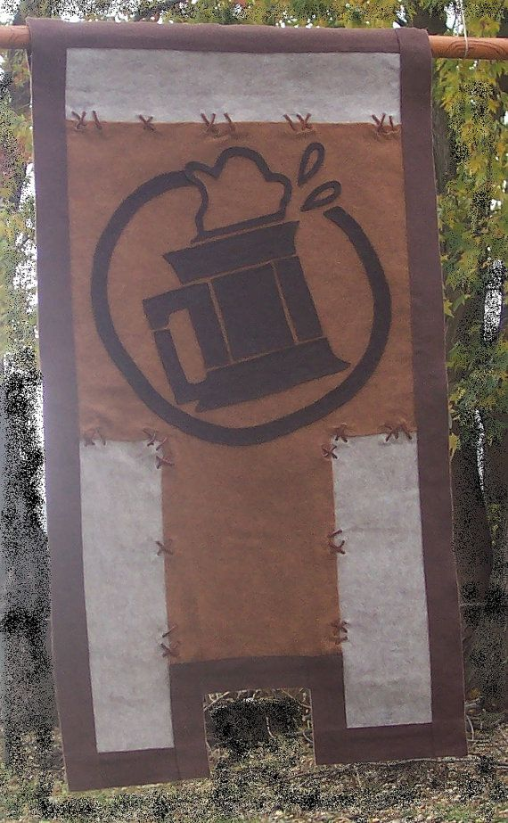 World of Warcraft  Brewfest Banner Tapestry  by SummerWoodCrafts, $50.00