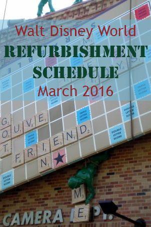 Walt Disney World Refurbishment Schedule March 2016 - Frontierland Station