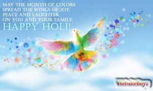 Happy #Holi2015 Messages & SMS In Hindi & English