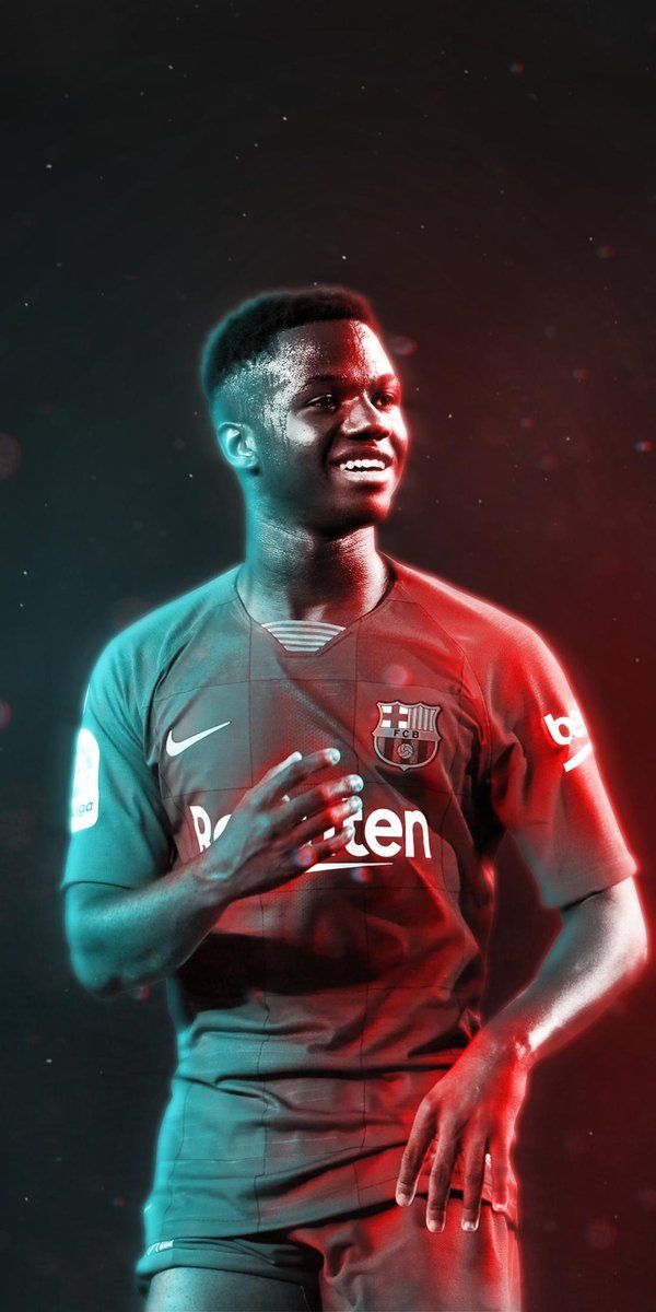 Ansu Fati Wallpapers 4k Hd Mobile In 2020 Football Wallpaper Messi Android Apps