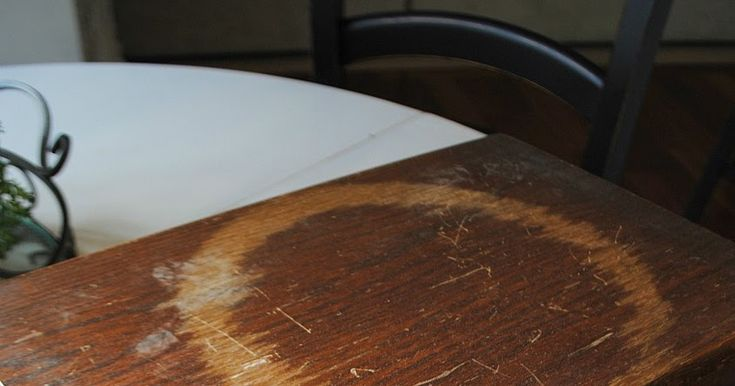 Noble Vintage: how to restore scratched and worn wood