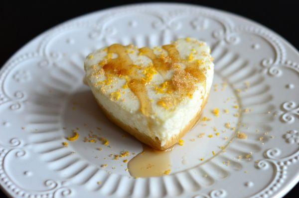 Syrlig og frisk sitronmousse-ostekake