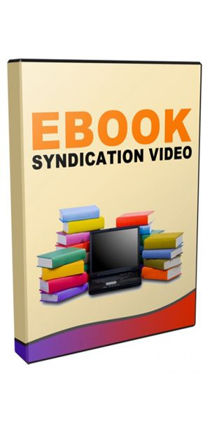 eBook Syndication Sites . Submitting eBooks to syndication sites is nothing new yet is often over-looked by many marketers.  Whilst there is a bit of work needed up-front, when done right it can bring you a steady passive stream of traffic for many years.