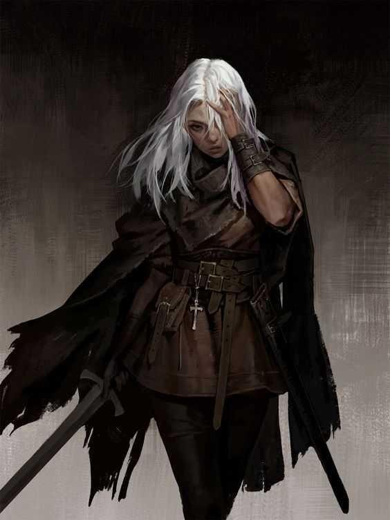 mixed fantasy characters. tieflings