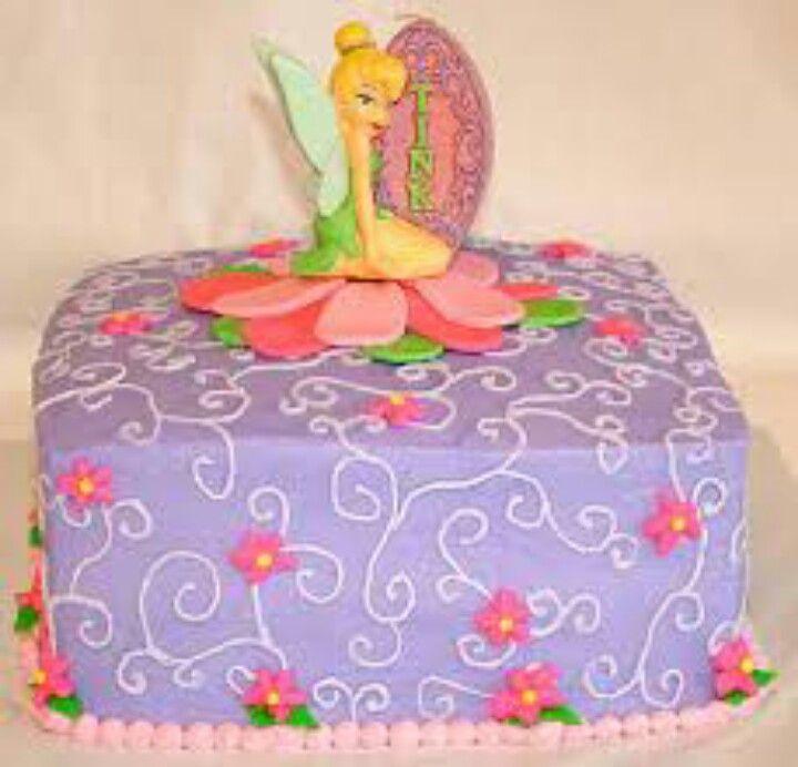 Tinkerbell birthday cake idea
