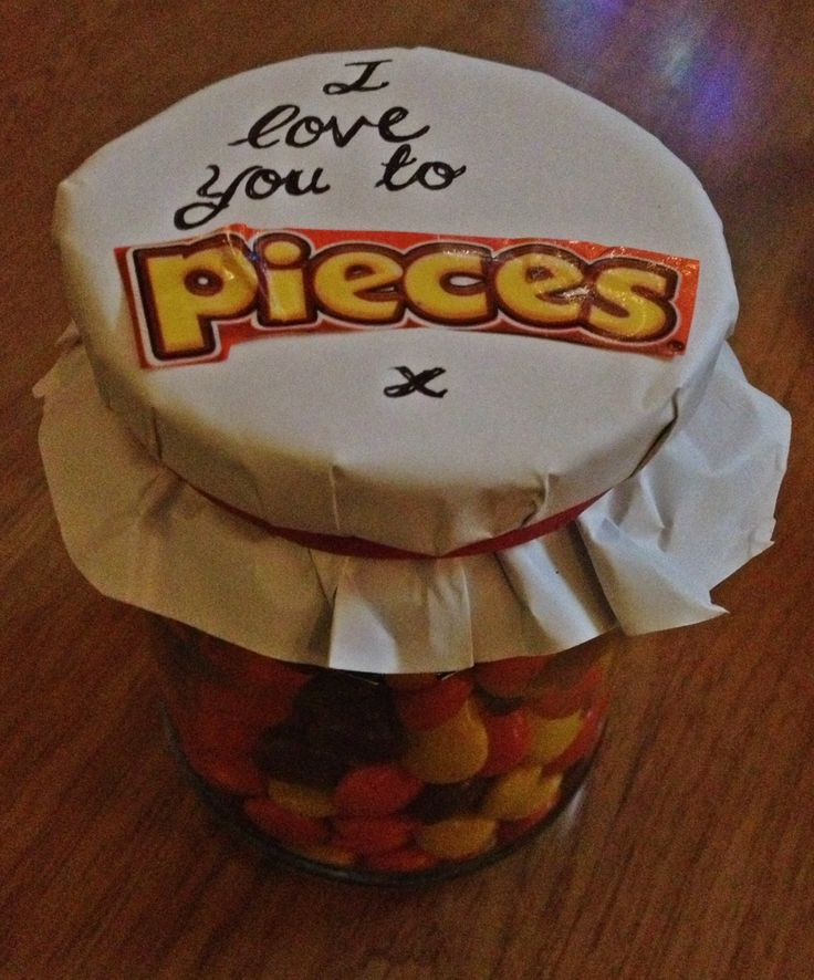 My homemade gift for my Reese's-fanatic boyfriend :)