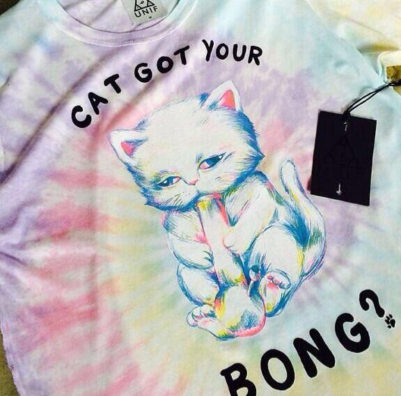 Cat got your bong
