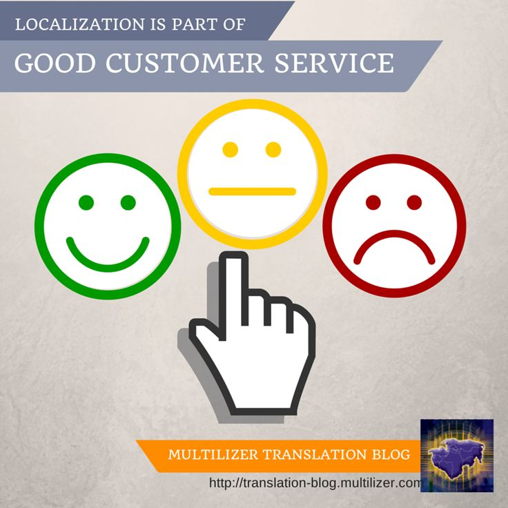 Localization Is Part of Good Customer Service