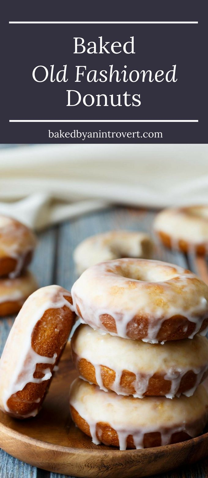 These Baked Old Fashioned Donuts will remind you just how delicious breakfast can taste! This simple donut recipe will give you familiar old fashioned donuts without all the hassle of rolling, cutting, and frying the dough. These old fashioned donuts are perfectly sweet and cakey without being too sugary. They make a great breakfast treat or delicious snack any time of day!