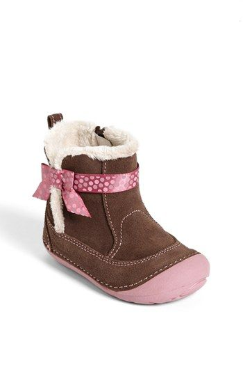 Stride Rite 'Gellar' Boot (Baby & Walker) available at #Nordstrom....these are adorable on my little girl!