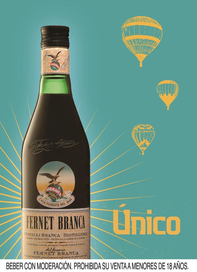Fernet Branca. Globos.