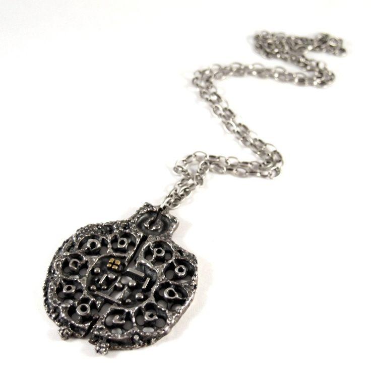 Guy Vidal Openwork Necklace