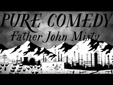 "Father John Misty's Video for New Song ""Pure Comedy"" Features Trump, Obama, Kanye: Watch 
