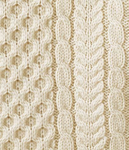 Cable Knit Swatch Via False Arms They Don T Credit