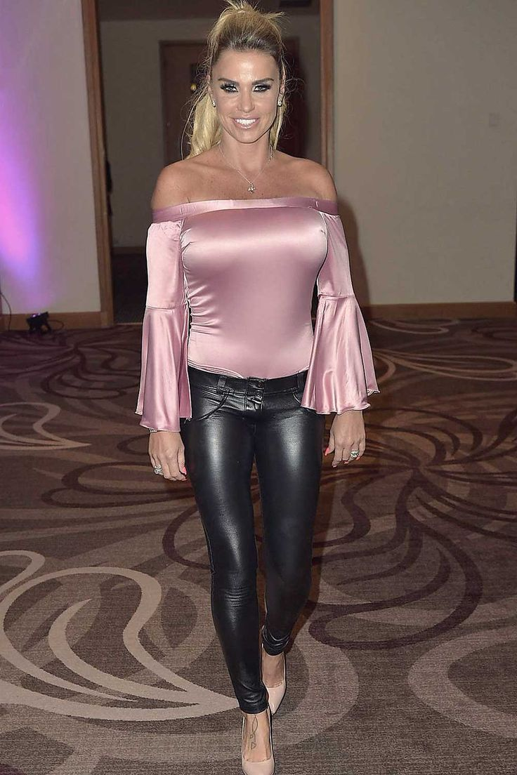 Katie Price hosts an Evening with Event