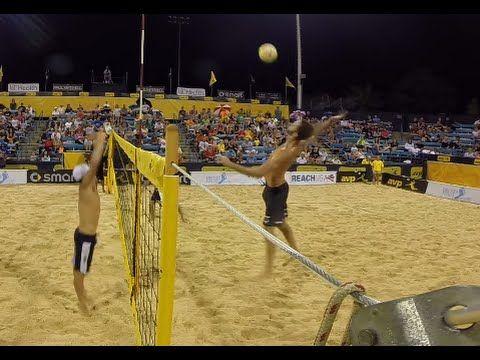 AVP GoPro Clip: Cincinnati Open Night Session | AVP Beach Volleyball