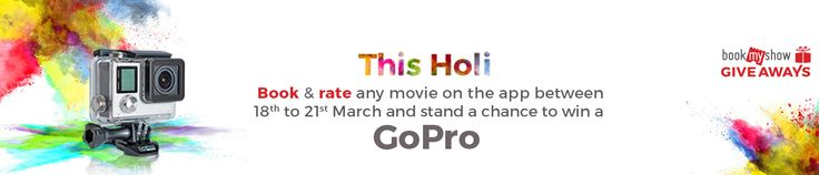 Bookmyshow Holi Offer 2016 : Holi 2016 Movie Ticket Offers and Deals