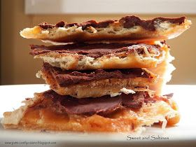 Comfy Cuisine: Sweet and Saltines